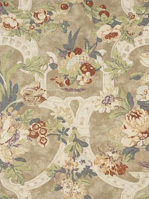 Ralph Lauren Fabric - Hathersage Floral - Thistle LCF66147F