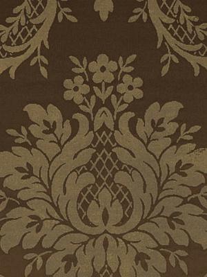 Ralph Lauren Fabric - Castleton Damask - Umber LCF66153F