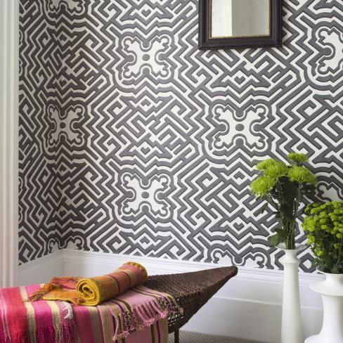 Palace Maze Cole & Son Wallpaper Historic Royal Palaces Collection