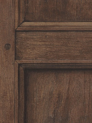 Andrew Martin Wallpaper - Regent - Oak