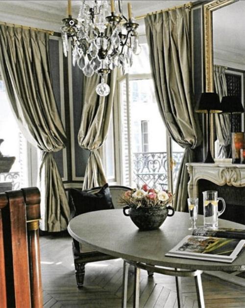 Gilver Curtains Interior Decor Metallic