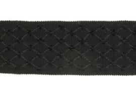Stroheim & Romann Trim - Jaquard Tape - Licorice 6015909