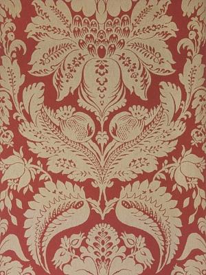 Stroheim & Romann Wallpaper - Wethers Nonwoven - Cranberry 6151003