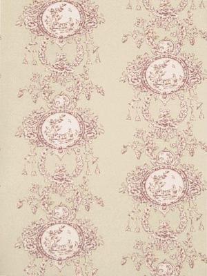 Stroheim & Romann Wallpaper - Monique - Red 6332603