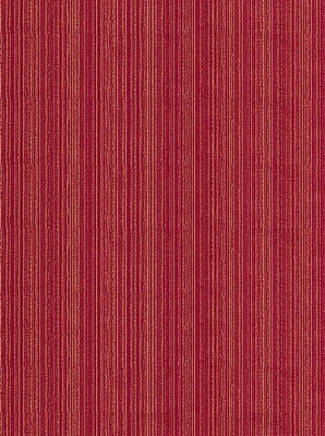 Schumacher Fabric - Andrea Velvet Strie - Rouge 68330