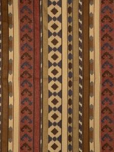 S. Harris Fabric - Kilim Stripe - Leather 8539102