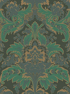 Cole & Son Wallpaper - Aldwych Green & Gold 94_5028_CS