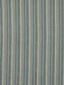 Beacon Hill Fabric - Banook Stripe - Bay Blue