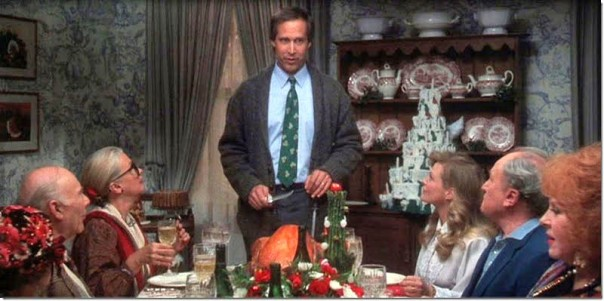 Griswold House Christmas Vacation Dining Room Decor