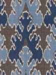 Groundworks Fabric - Bengal Bazaar - Grey/Indigo GWF-2811_511_0