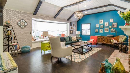 hicks hexagon living room interior decor