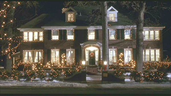 Home Alone movie house