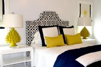 schumacher fabrics imperial trellis citrine headboard bedroom decor home design trends customer favorites