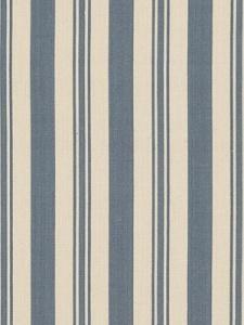 Ralph Lauren Fabric - Arbaud Ticking - Vintage Blue LCF65524F