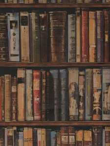 Andrew Martin Wallpaper - Library A & B - Multi