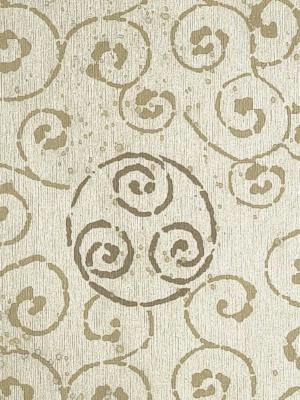 Winfield Thybony Wallpaper - Beijing - Umber WMA8032