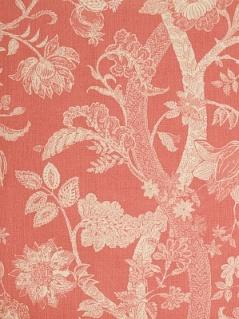 Fabricut Fabric - Batik Tree - Coral 2079903