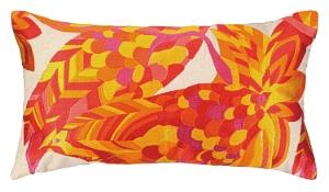 La Palma Pink Embroidered Pillow  24TT97AC26OB