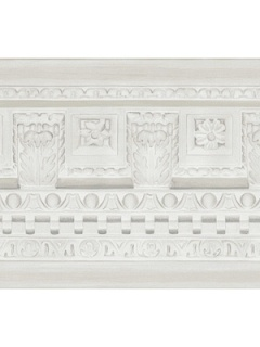 Cole & Son Wallpaper - Georgian Border - White 98_11049_CS