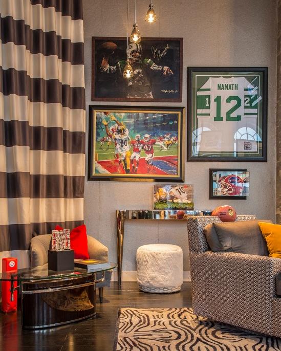 Ally Coulter Media Room Interior Decor for Both Men Women