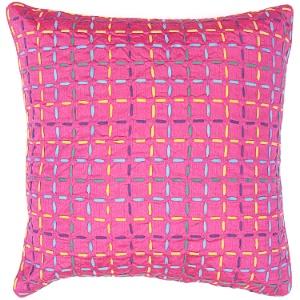 Jaipur Pillow - Anise - Pink BK12