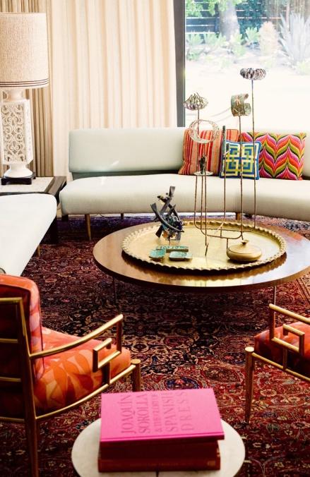 Trina Turk's Home - Living Room Interior Decor
