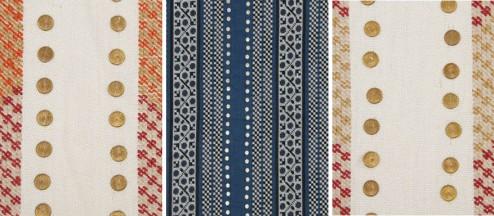 Beacon Hill Fabrics - Crawford Bead, various colors Ankasa