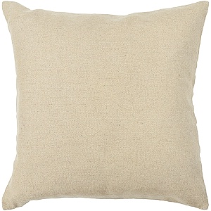 Chandra Wool Cream Pillow - CUS28020