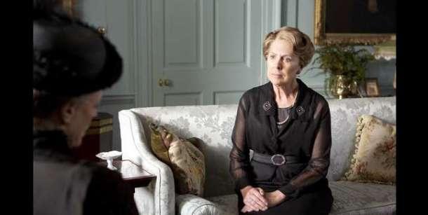 Isobel Crawley House Interior Decor on set of Downton Abbey