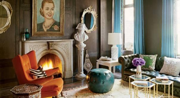 Nanette Lepore's Sitting Room interior Decor