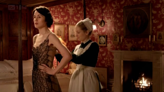 Downton Abbey Decor - Marys Bedroom