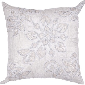 Jaipur Pillow - MN02 - Silver