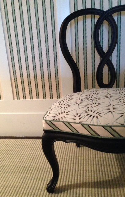 Tilton Fenwick Chair with Duralee Fabric Collection