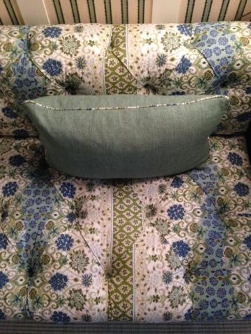 Tilton Fenwick Sofa Duralee Fabric