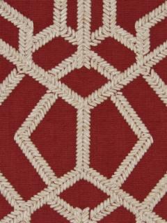 Beacon Hill Fabric - Rajouri - Vermillion