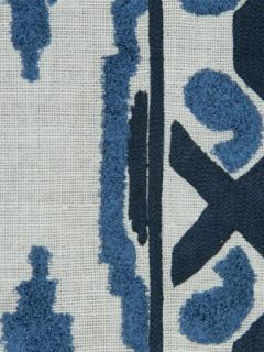Beacon Hill Fabric - Sedona Ikat - Indigo
