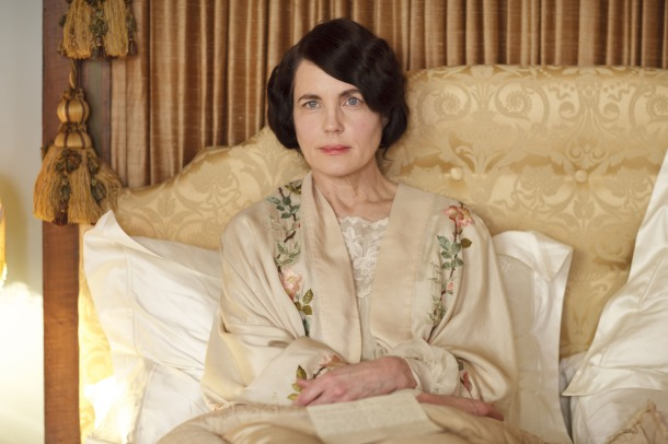 Cora Crawley Bedroom Decor on the set of Downton Abbey Home Highclere Castle