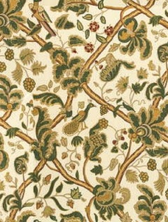 oscar del la renta floral vine home decor lee jofa fabric