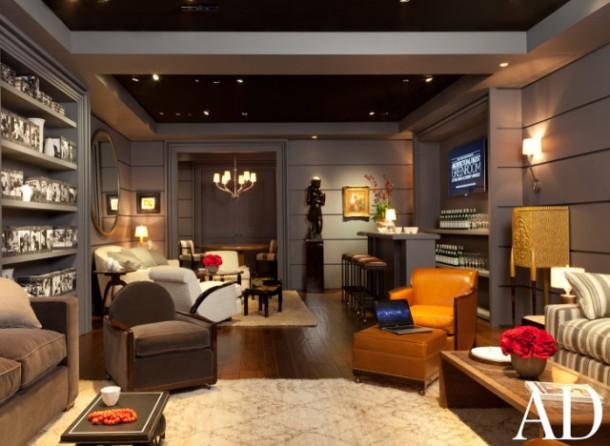 84th Annual Academy Awards Oscars Green Room 2012 Interior Decor