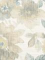 Robert Allen Fabric - Misty Floral - Blue Opal