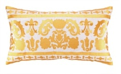 Jennifer Paganelli Pillow - Lily Gold Embroidery 24JP62CC26OB