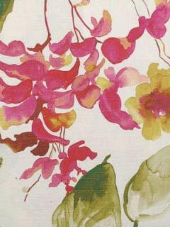 Duralee Fabric - 42362-638 Raspberry/Green