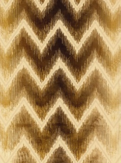 Schumacher fabric - Shock Wave - Sand & Sable 54861