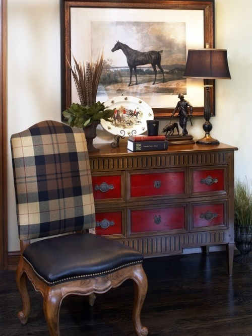 Plaid English Country Decor