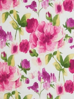 Greenhouse Fabric - A7609 - Raspberry