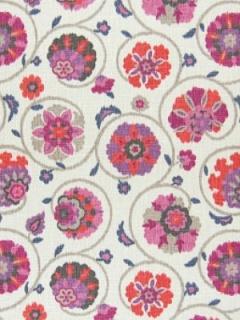 Greenhouse Fabric - A7611 - PunchGreenhouse Fabric - A7611 - Punch