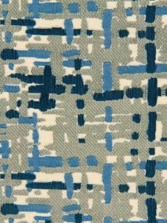 Robert Allen Fabric - Abstract Plaid - Cobalt