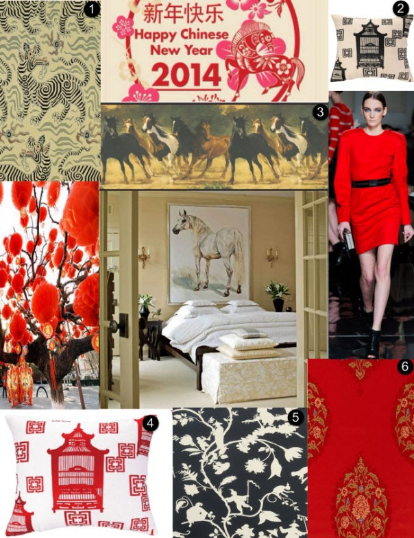 chinese new year moodboard monday