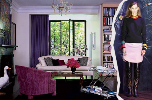 Cynthia Rowley Feminine Manhattan Townhouse