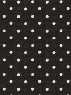kravet fabrics polka dots interior decor black & white
